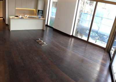 Reference oak wood | London Residential Smoked Oak wood floors up to 7 m length in one piece