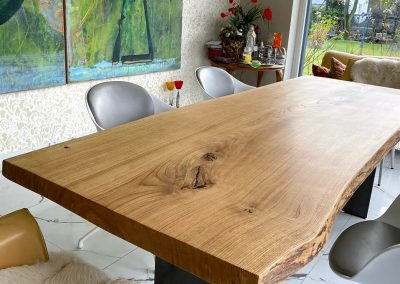 Custom-made table top | oak table tops | tabletop wood by sawmill Hugo Kämpf