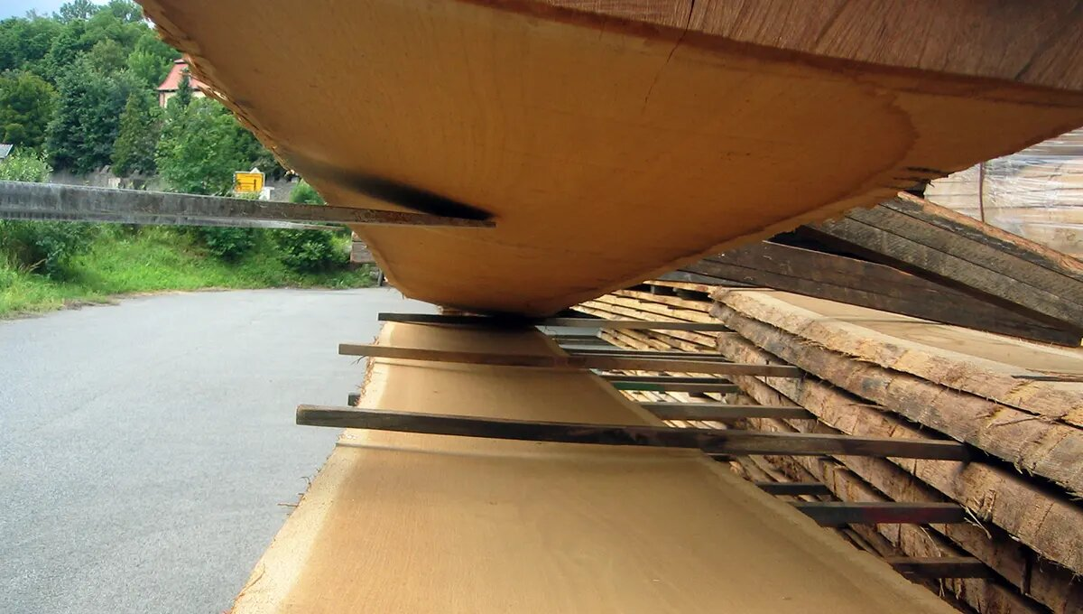 Block goods out of wood   FSC 100% and PEFC   timber trade HUGO KÄMPF