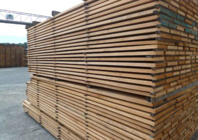 oak square edged stacked